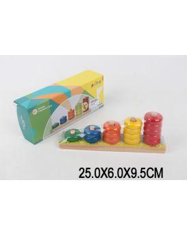 Деревянная игрушка «Логика» в коробке 25 х 6 х 9,5 см