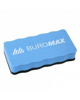 Губка магнитная для сухой очистки маркерной доски, синяя.