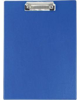 Клипборд А4, PVC, т.синий