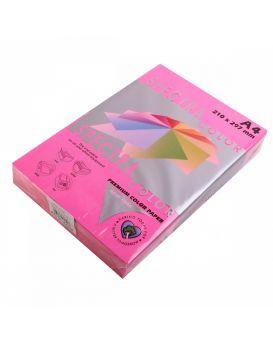 Бумага цветн. А4/75 (500арк.) неон 342 Pink (розовый) SPECTRA COLOR