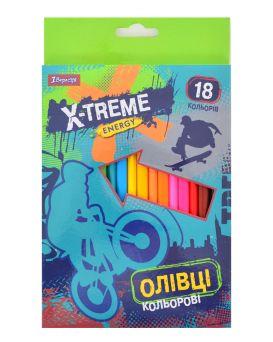 Карандаши 18 цветов «X-Treme»