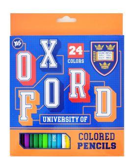 Карандаши 24 цветов «Oxford. blue»
