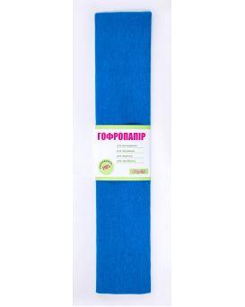 Гофро - бумага 110%, 50 х 200 см, бирюзовый