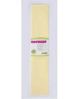 Гофро - бумага 110%, 50 х 200 см, кремовая