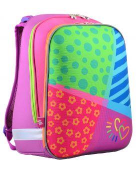 Рюкзак каркасный H-12 «Bright colors» 38 х 29 х 15 см