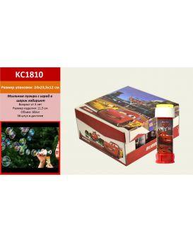 Мыльные пузыри KC1810 (KC1610) по 36 шт в коробке, 60 мл