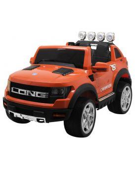 Джип на радио управлении 2,4 G, 2 мотора 30W, аккумулятор 12V/7AH, колесо EVA, USB,оранжевый