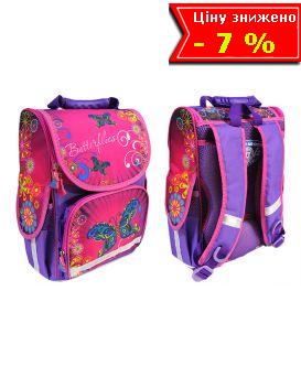 Рюкзак - короб ортопедический «Бабочка. 8» 25,5 х 34,5 х 13 см, ТМ Smile