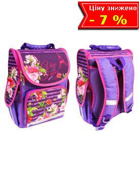 Рюкзак - короб ортопедический «Цветы. 8» 25,5 х 34,5 х 13 см, ТМ Smile