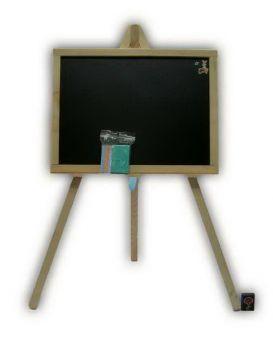 Доска для рисования на 3-ноге 70х45 см, односторонняя, немагнитная