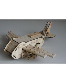 Конструктор «Самолет» размер собранной модели 46х40х14,5 см