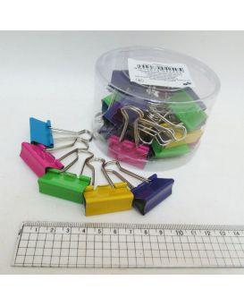 Биндеры для бумаги 32 мм «Цветные»