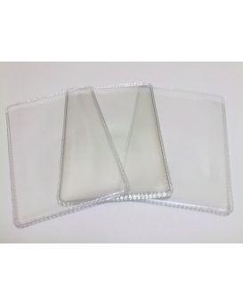 Обложка на банковскую карточку, прозрачная, ПВХ 200 мкм / 20 / 4000