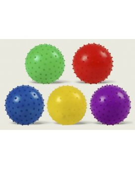 Мяч MB0103 с шипами, резиновый 12см 25гр