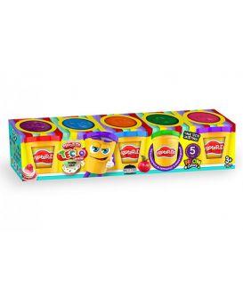 Набор тесто для лепки Master Do 5 цветов по 50 гр.,  у коробке, укр.