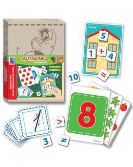 Дидактическая игра с магнитами Vlady Toys Математика (укр)