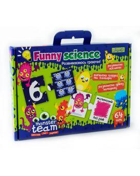 Игра настольная «Funny science. Monster team»
