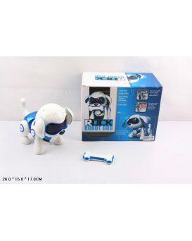 Робот «Собака» на батарейке, свет, звук, в коробке 26х15х17 см