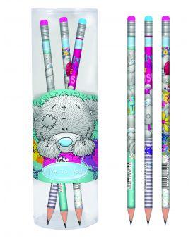 Карандаш графитный круглый с ластиком в пластиковом тубусе 39 шт. «Me-to-you»