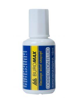 Корректирующая жидкость с кисточкой 16мл, JOBMAX