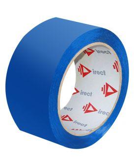 Скотч 48 мм х 50 м х 40 мкм, синий, Direct