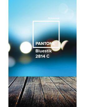 Тетрадь А4 144 л., твердый переплет, в клетку, пластиковая обложка «Paint blue» ТМ YES