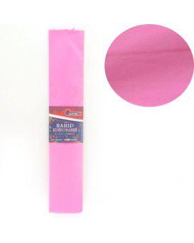 KR55-8011 Креп-бумага 55%, светло-розовый 50*200см, 20г/м2