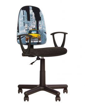 Кресло детское поворотное «FALKOM» Новый Стиль