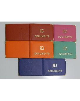 Обложка на документ «ID Documents» золотое тиснение 192 х 67 мм