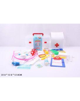 Набор «Доктор» стетоскоп, медицинские инструменты, в ассортименте, в пластиковом чемодане 12х12х21,5