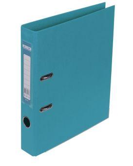 Регистратор А4 ELITE двухсторонний, сборный, 50 мм, PP, голубой.