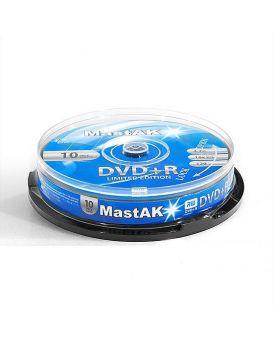 Диск MASTAK DVD+R (10)