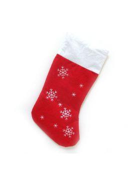 Носок «Снежинка» 23 х 44 см