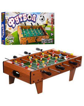 Футбол деревянный на штангах 69х58х23 см, мячи 2 шт., шкала ведения счета, в кор. 69х35х8 см