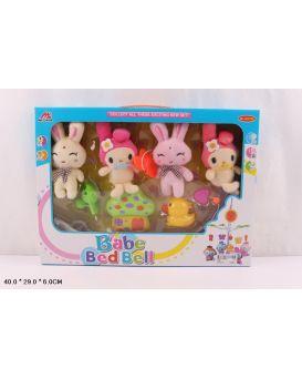 Мобиль мягкие игрушки, в коробке 40х29х6 см