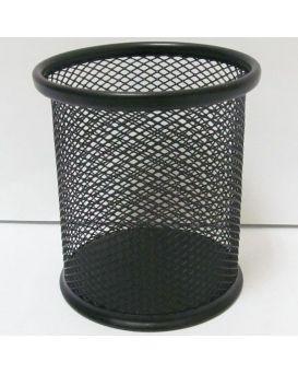 BJ-8021-B (DSCN1082-B) Подставка д/ручек-металл. 9*9,8 см