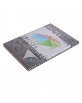 Бумага цветная А4 100 листов, 80 гр/м2, темный, темно - черный «Black 401» SPECTRA COLOR