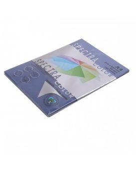 Бумага цветная А4 100 листов, 80 гр/м2, темный, темно - синий «Cobalt 42A» SPECTRA COLOR