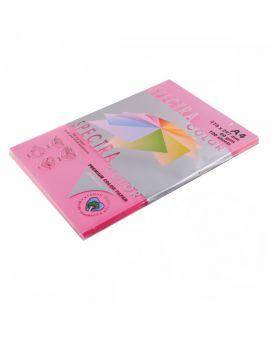 Бумага цветная А4 100 листов, 80 гр/м2, темный, темно - малиновый «Raspberry44А» SPECTRA COLOR