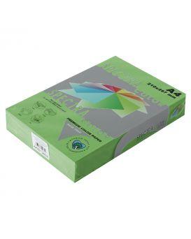 Бумага цветная А4 250 листов, 160 гр/м2, интенсив - зеленый «Parrot 230» SPECTRA COLOR