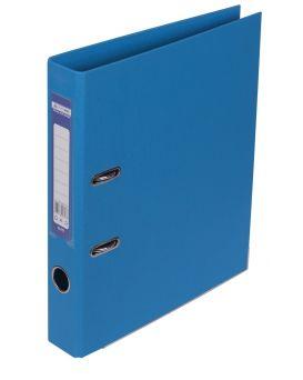 Папка - регистратор А4 ELITE двухсторонняя, сборная, 50 мм, PP, голубая.