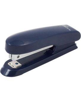 Степлер пластиковый до 15 л., скоба № 10 «RUBBER TOUCH» синий.
