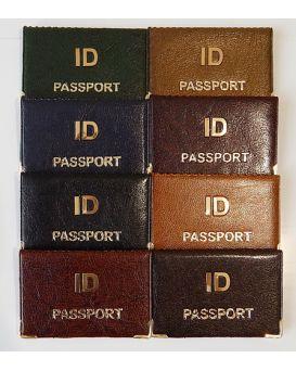 ID Passport металл золотое теснение 125х96