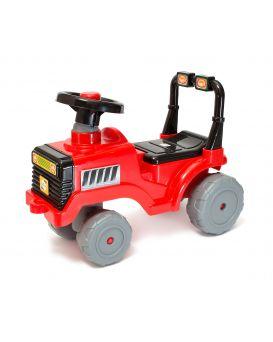Толокар машина для катания «Беби Трактор» красная, ТМ Орион
