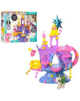 Замок «My little Horse» пони 2 шт. по 6 см, мебель, наклейки, в коробке 36х29х6 см