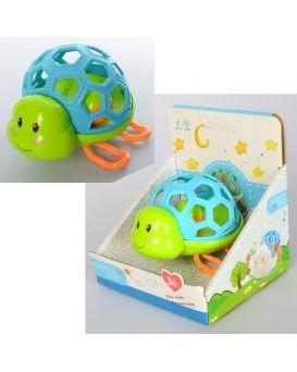 Погремушка «Черепаха» 11,5 см, в коробке 15х13,5х16,5 см