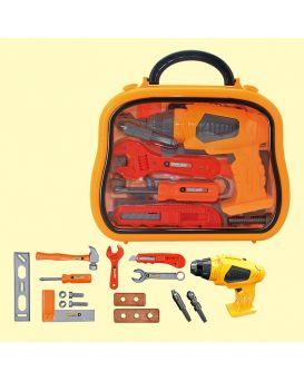 Набор инструментов 36778-129  в чемодане 26*22*7см