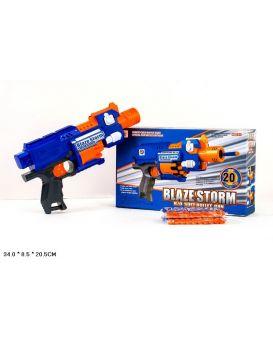 Бластер 7053  стреляет поролон.снарядами, в коробке 34*8,5*20,5 см