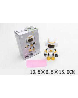 Робот на батарейке, свет, звук, в коробке 10,5х6,5х15 см