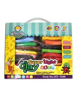 Набор для лепки, пластилин, 24 цвета 24 шт. в коробке, Имп